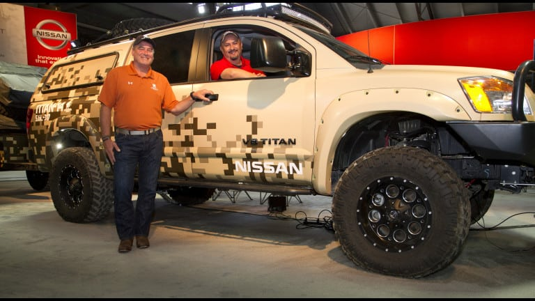 NissanÕs Project Titan a worthy companion for WWP Alumni trip