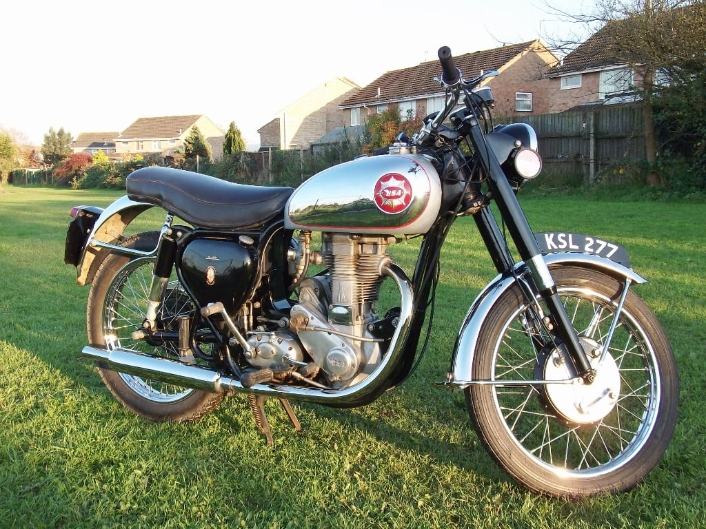 1954 BSA Gold Star