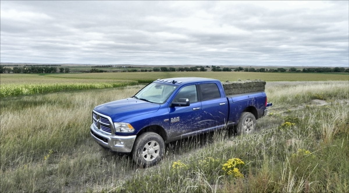 What does the Dodge Ram Big Horn package include?