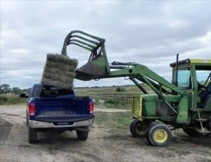 2014 Ram 2500 Big Horn - loading hay - AOA1200px