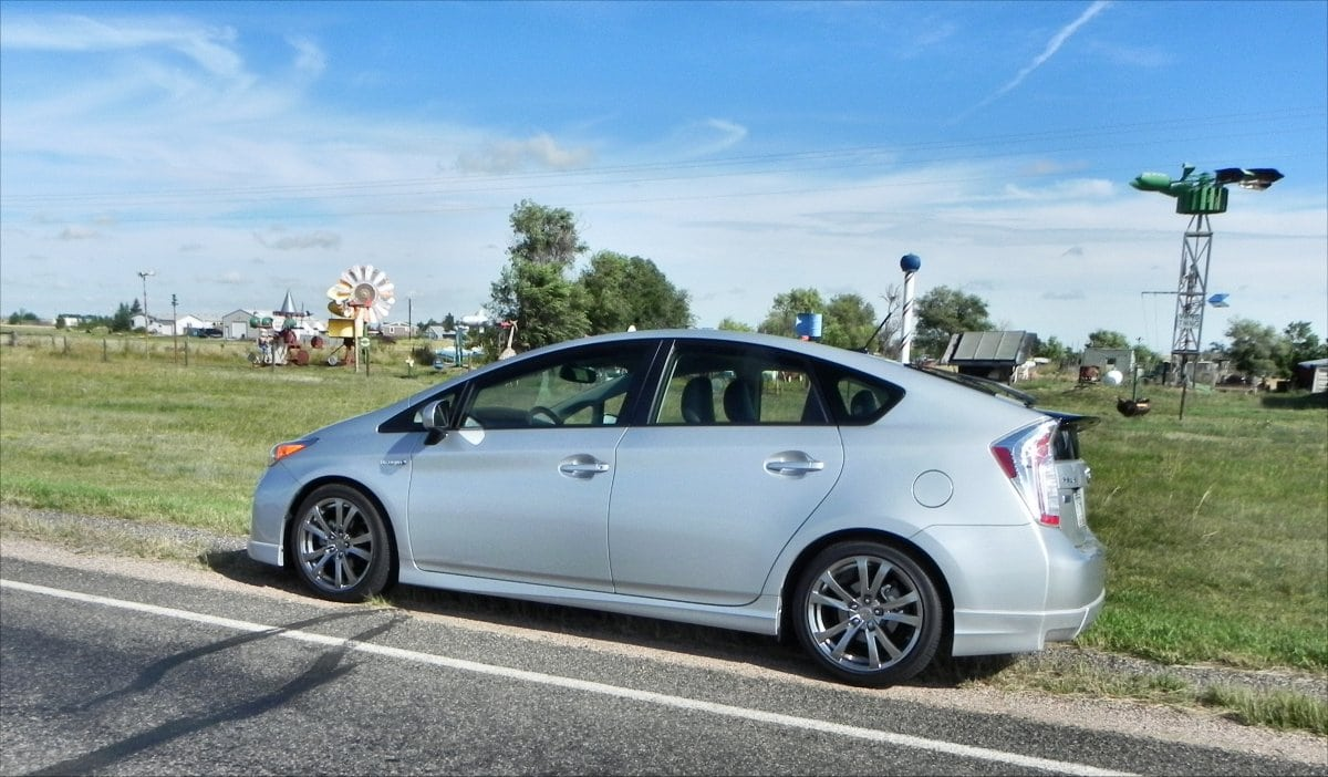 2014 Toyota Prius Five is efficient, versatile, and efficient