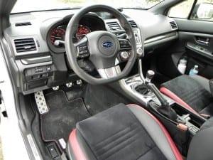 2015 Subaru WRX STi - interior 3 - AOA1200px