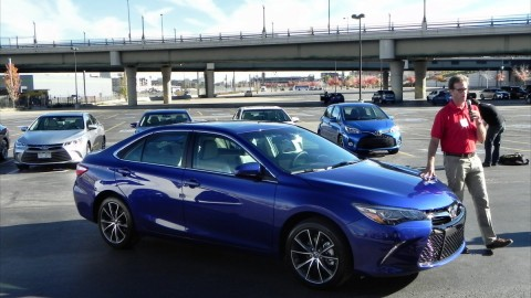 2015 Toyota Camry, Sienna, Yaris First Drive Impressions