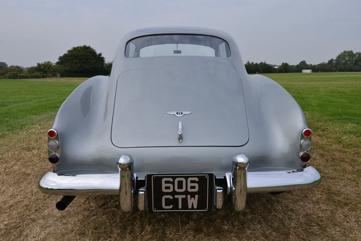 211014silvauct-1954 Bentley R Type Continental Fastback rear