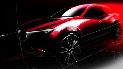 Mazda To Unveil New CX-3 Compact Crossover at LA