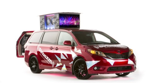 Watch West Coast Customs and SiriusXM Rock out the Toyota Sienna