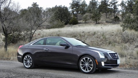 Classic coupe: Cadillac ATS now offered as a two-door luxury coupe