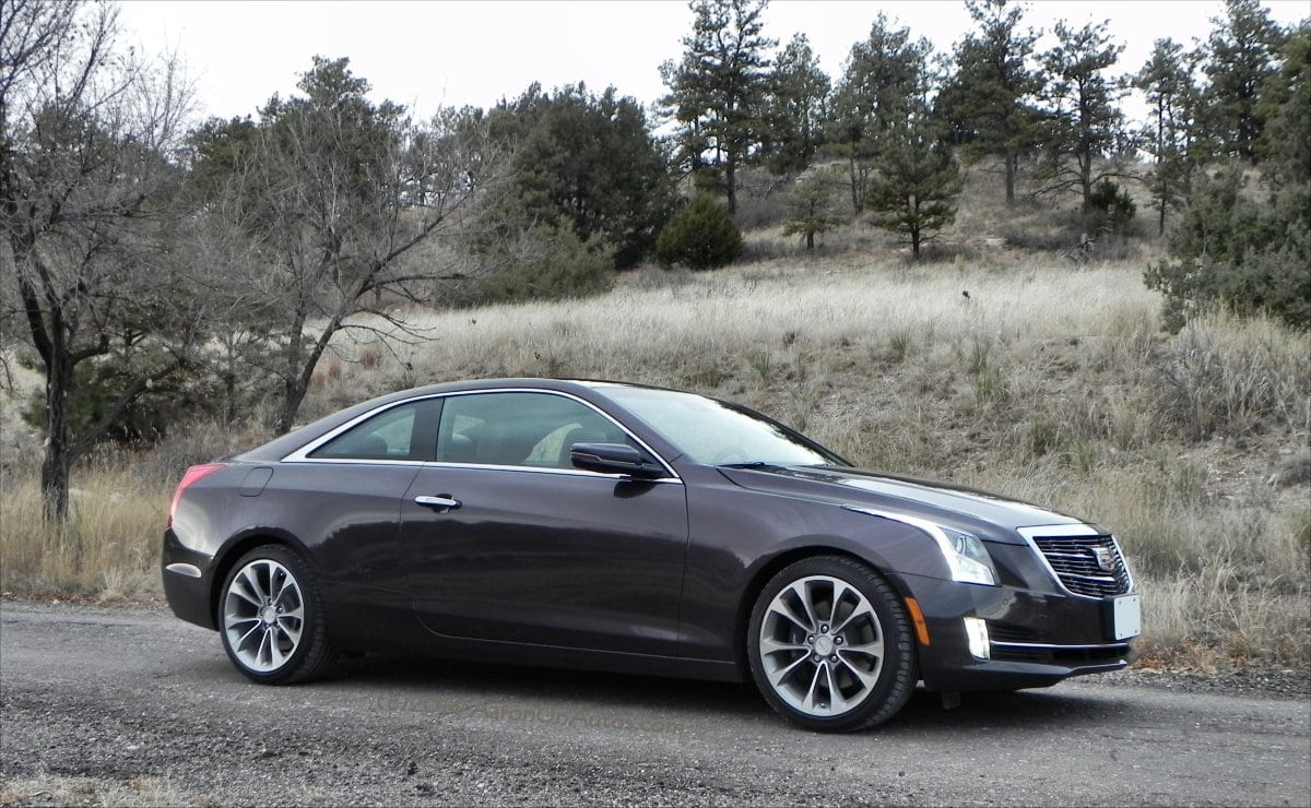 Cadillac ATS now offered as a two-door luxury coupe
