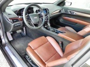 2015 Cadillac ATS - interior 1 - AOA1200px