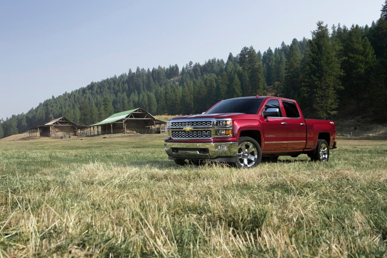 Modern mover:  2015 Chevy Silverado combines amenities with utilities