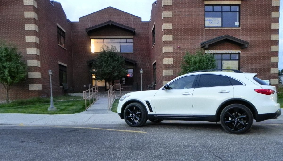 2015 Infiniti QX70 Sport Luxury Crossover – in that order