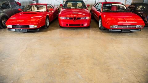 Low-mileage Italian Collection In Race Retro Sale