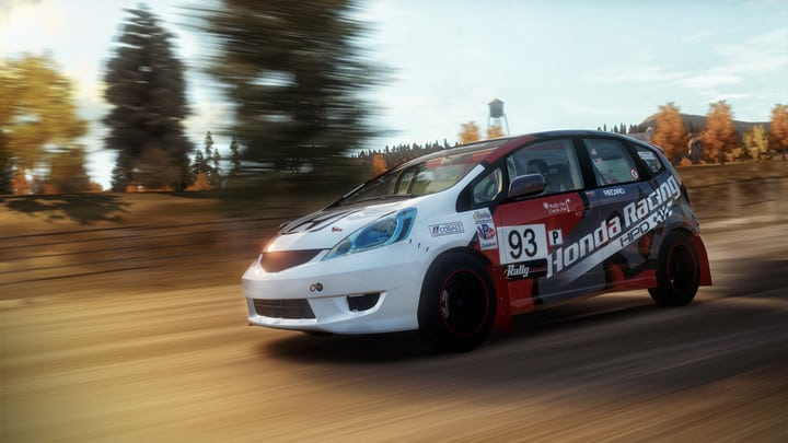 honda fit b spec rally car