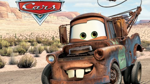 Ridiculously Awesome Real-life Mater Doing Burnouts