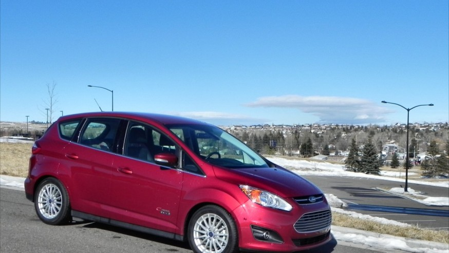 2014 ford c max energi is big and efficient but don t bring a suitcase. Black Bedroom Furniture Sets. Home Design Ideas