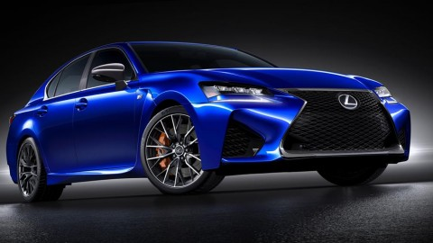 Lexus Unveils GS F Sedan ahead of Detroit Show
