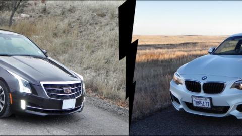 Cadillac ATS Coupe vs BMW 228i – Saturday Showdown
