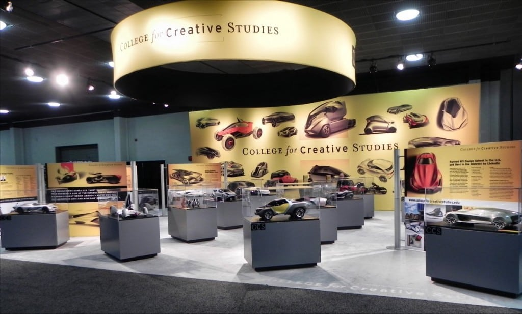 College For Creative Studies booth - 1200px
