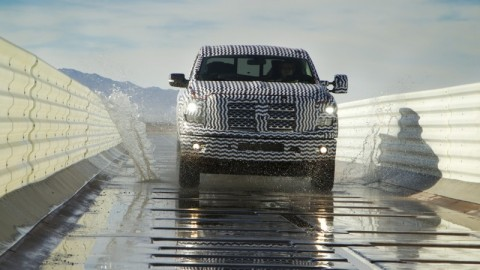 Nissan introduces full size Nissan Titan pickups in Detroit