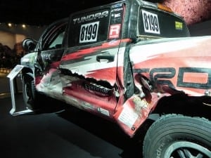 Tundra Baja Truck  - damage 1 - AOA1200px