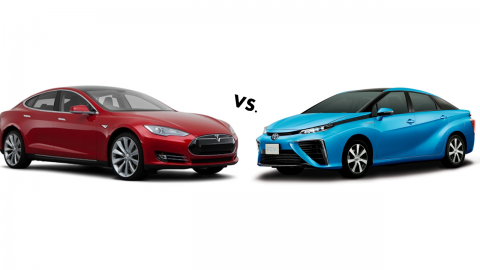 Clean Car Comparison: Model S vs. Mirai