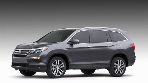 All-new 2016 Honda Pilot Debuts at Chicago Auto Show