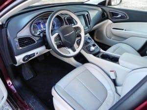 2015 Chrysler 200C - interior 1 - AOA1200px