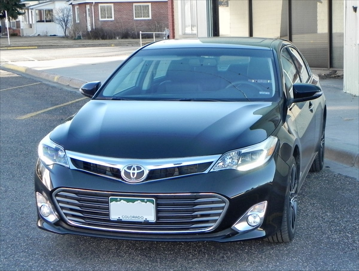 avalon test toyota road review touring