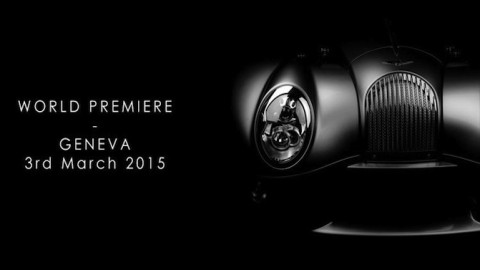 Morgan Teases New Car To Be Shown at Geneva