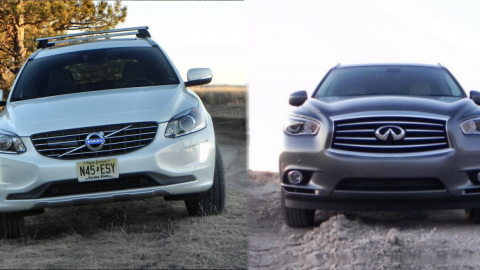 Volvo XC60 vs Infiniti QX60 – Saturday Showdown