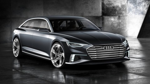 Audi Reinterprets the Avant for Geneva with 5-Door Hybrid Prologue