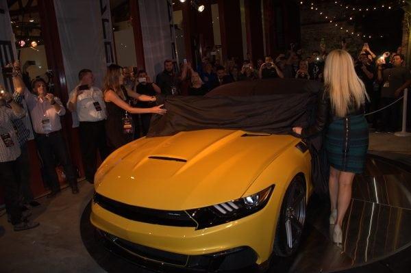 2015 Saleen Mustang Unveiling 1