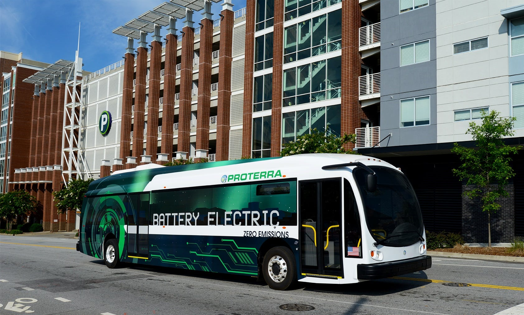 Electric Bus Maker Proterra