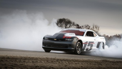 Barrett-Jackson Auctioning 1st 2015 COPO Camaro for Wounded Vets