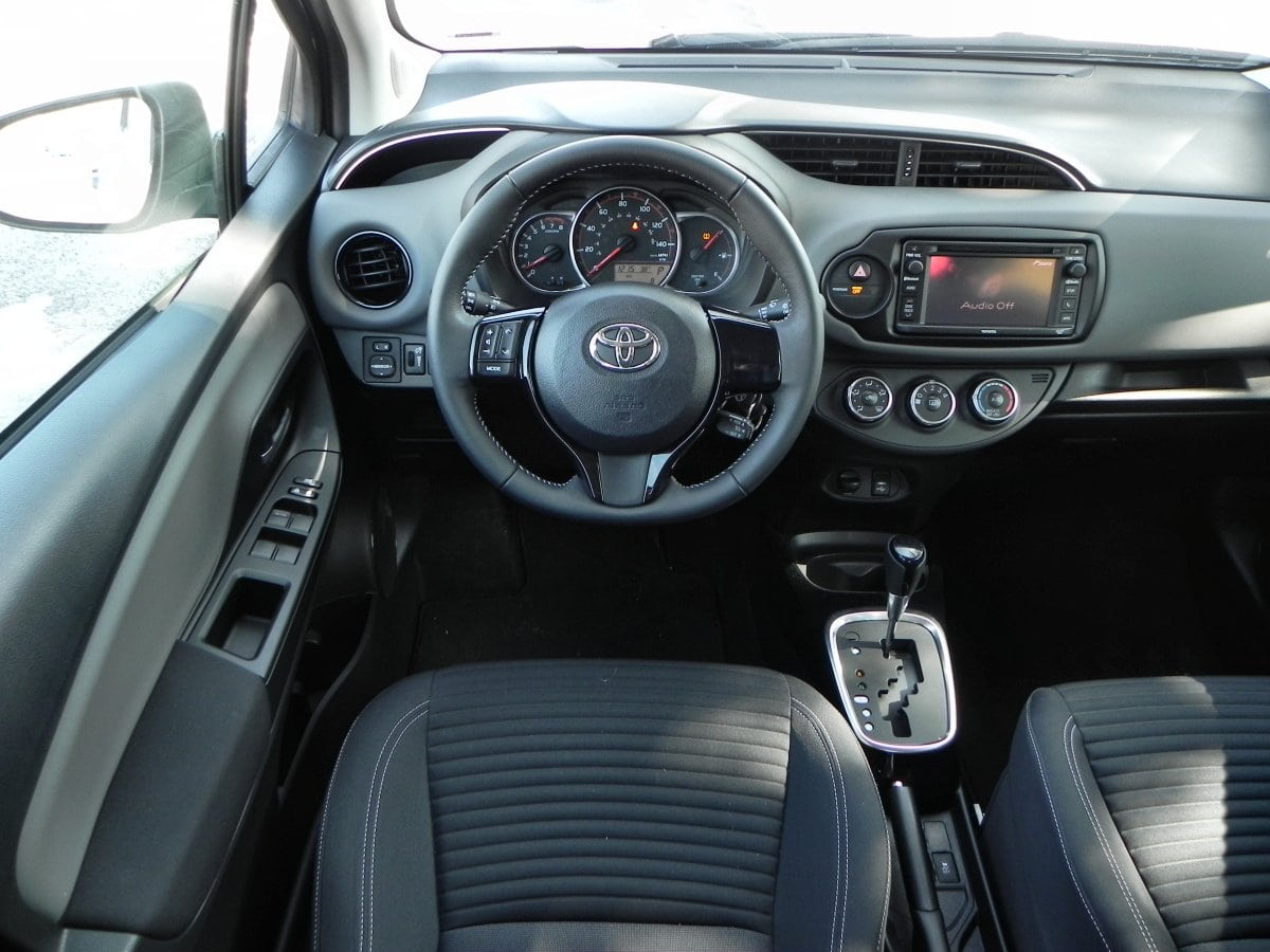2015 toyota yaris is economical sturdy and fair to middlin for Interieur yaris 2015