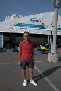 FIA Formula E ePrix Alain Nicolas Prost