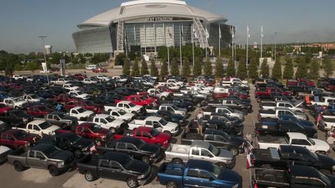 Ram Trucks Make Guinness World Record in Texas