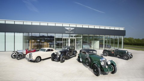 Classic Bentleys Headed for International Show Circuit