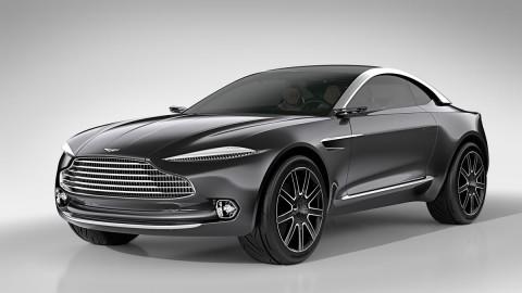 Aston Martin DBX Concept in Villa d'Este