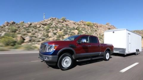 Nissan Titan XD starts its big V8 Diesel
