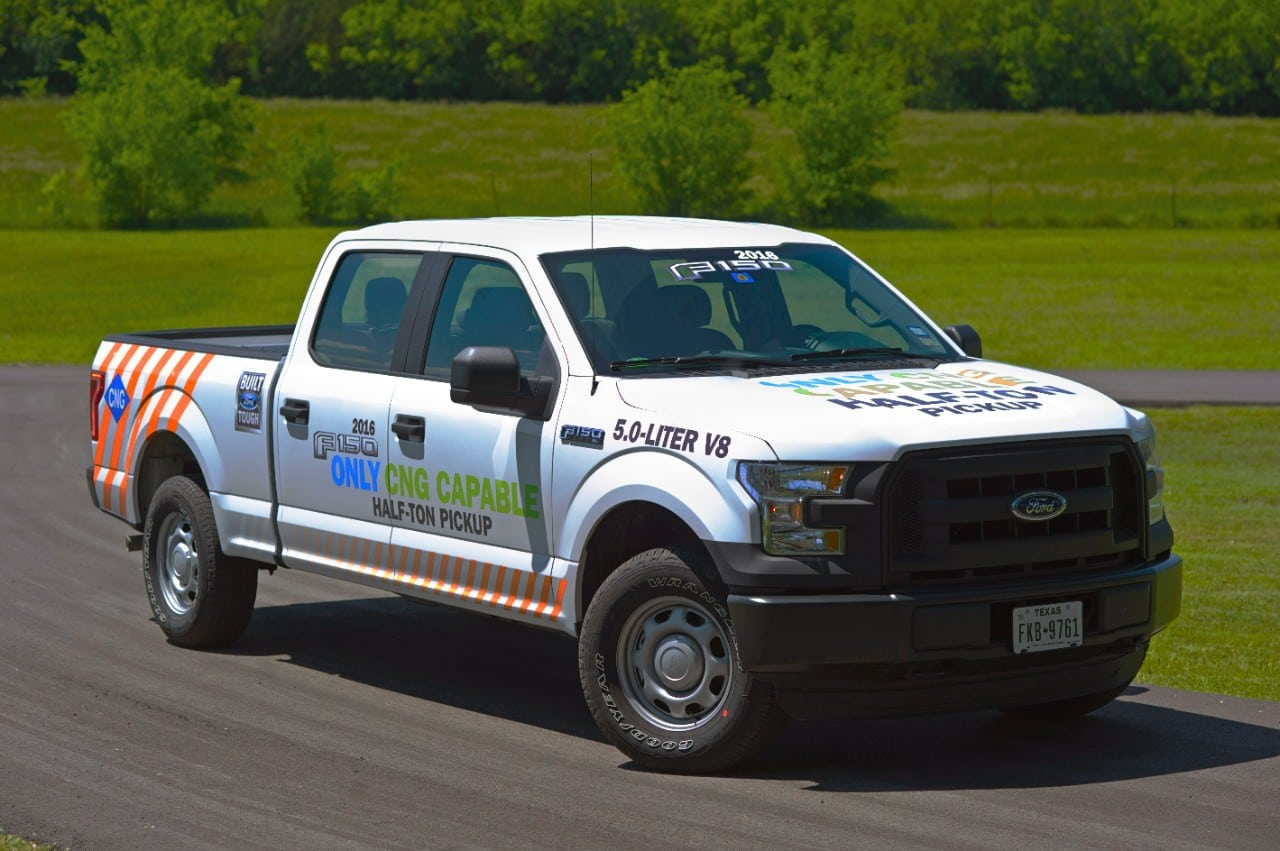 Ford Compressed Natural Gas Vehicles