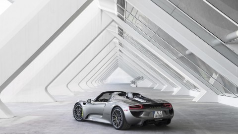 Porsche 918 Spyder Finishes Production