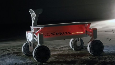 Audi Builds e-quattro Rover.. it's going to the moon