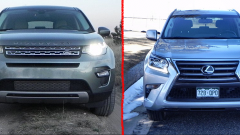 Land Rover Discovery Sport vs Lexus GX 460 – Saturday Showdown