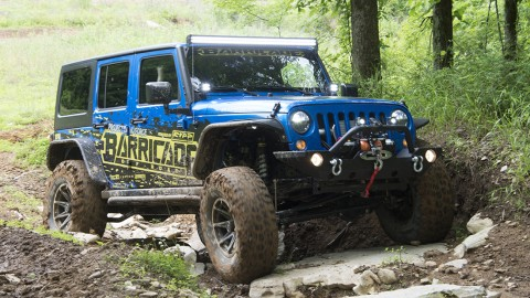 ExtremeTerrain and Barricade Off-Road Unveil $70k Wrangler, Will Be Given Away at SEMA