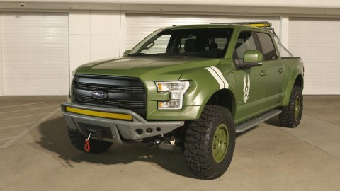Latest Ford F-150 Lands on Xbox's HALO 5 as the Sandcat