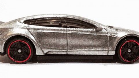 Hot Wheels Premiers An Affordable, Glitzy Tesla Model S