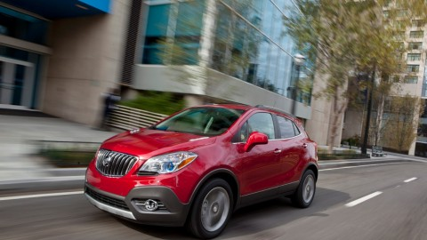 Big appeal, small encore: Buick Encore's diminutive stature part of its charm