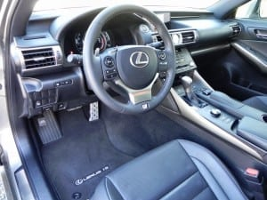2015 Lexus IS 350 - interior 1 - AOA1200px
