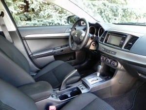 2015 Mitsubishi Lancer - interior 1 - AOA1200px